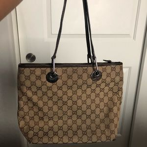 Medium Gucci Shopping Tote